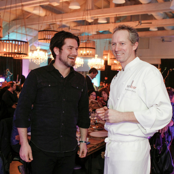 Rockstar Matt Nathanson & Chef Brandon Sharp at Solage Calistoga, VH1 Save The Music