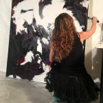 Penelope Moore breathes life into the process and engages through live work