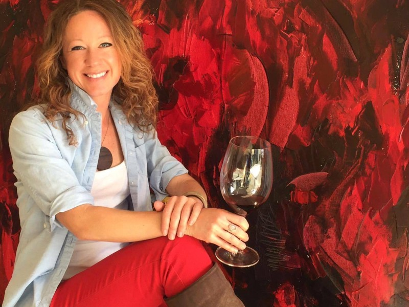 Penelope Moore is Napa Valley's Wine Artist