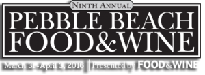 Pebble Beach Food and Wine Festival 2016