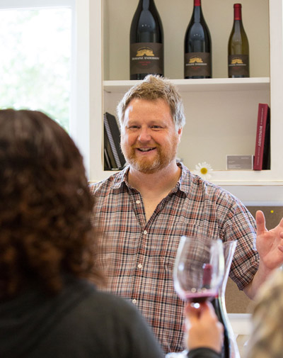Jerry Murray Winemaker of Domaine Anderson