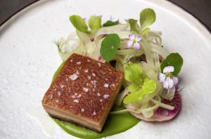 Seared Pork Belly at 1313 Main