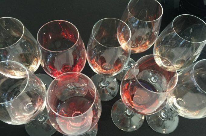 VINO in NYC Rose tasting