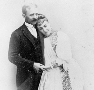 Founders of Stags' Leap Winery, Horace Chase and Mary Minzer