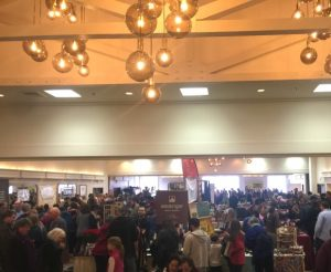 The crowd at the Oregon Chocolate Festival 2017