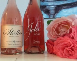 Stoller Family Estates Whole Cluster Pinot Noir Rosé is Outstanding