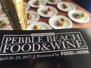 Kelly Mitchell covers Pebble Beach Food and Wine