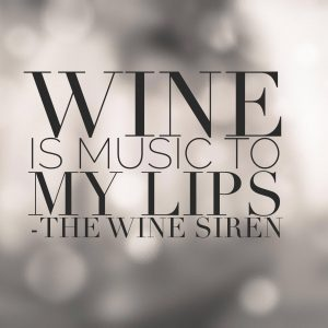 "The Wine Siren, Kelly Mitchell ""Wine is Music to My Lips"""