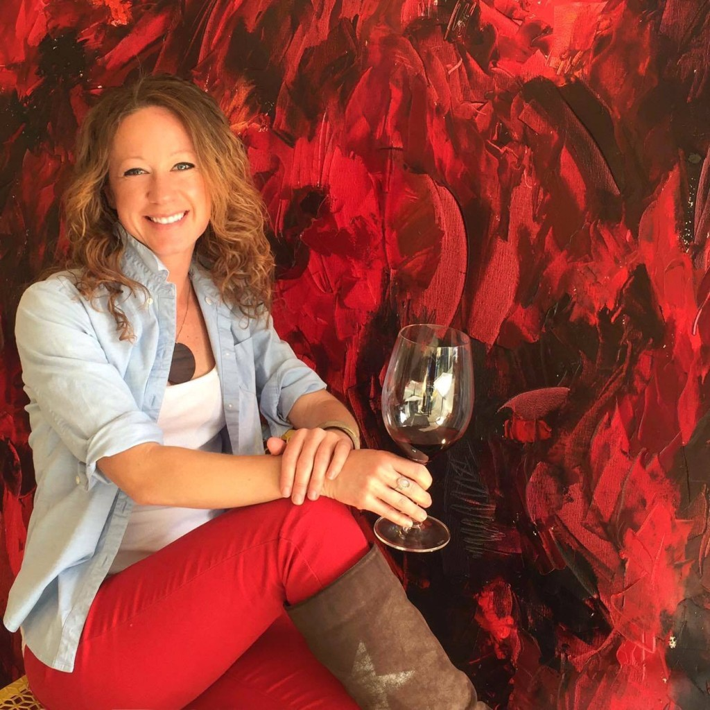 Penelope Moore is Napa Valley's Taste of Wine Artist