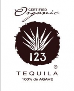 Certified Organic 123 Tequila 100% de Agave