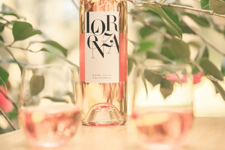 Lorenza Wine, one amazing rosé