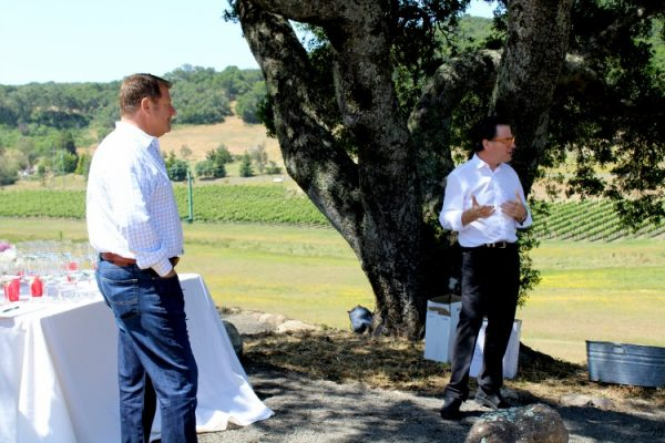David Grieve, Vintner and Vance Rose, Winemaker of Grieve Family Vineyards