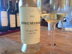 Extraordinary wine tasting at Spring Mountain Vineyards