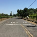 County Line of Napa in Sonoma Lovall Valley