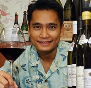 Roberto Viernes, Master Sommelier of the Hawaii Food and Wine Festival