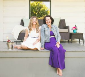 Olive & Poppy Co-Founders, Nicole Hughes and Anne Siegel