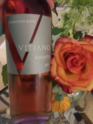 VITIANO Rosato courtesy of The Wine Siren