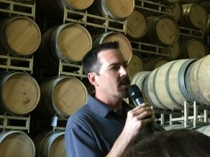 Chris Louton is the Bordeaux Winemaker from St. Francis Winery in Sonoma County