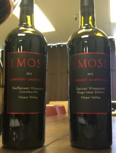 Award winning wines from J. Moss and Julie Lumgair