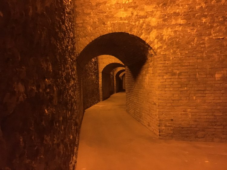 The caves of Champagne Gosset