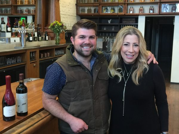 Joe Wagner of Copper Cane Provisions with The Wine Siren, Kelly Mitchell