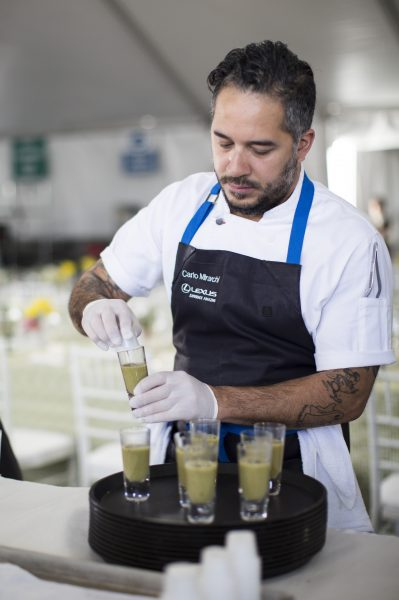Pebble Beach, World Class Chefs and The Lexus Effect