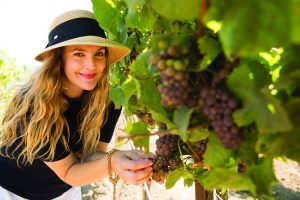 Drew Barrymore joins Kelly Mitchell, The Wine Siren for an interview on being a Vintner.