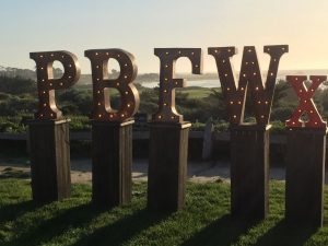 Pebble Beach Food and Wine event dazzles every year. Check out this post by The Wine Siren, Kelly Mitchell