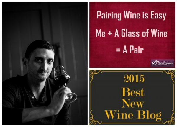 Social Vignerons, Julien Miquel 2015's recipient of Best New Wine Blog.