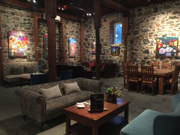 The tasting room at Ehler Estates