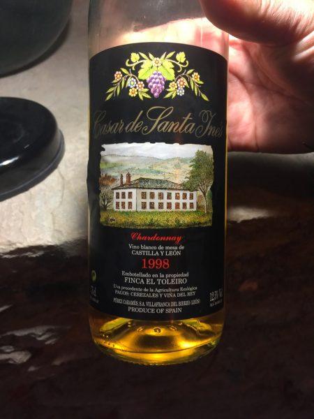 Finca El Toleiro Casar de Santa Ines Chardonnay