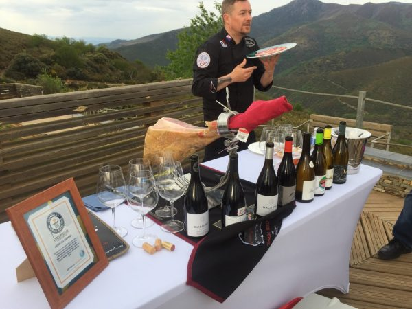 View from Las Médulas, wine tasting with certified Jimon Iberico professional carver