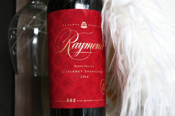Napa Valley Wine Raymond Vineyards 40th Anniversary 2014 Reserve Selection Cabernet Sauvignon