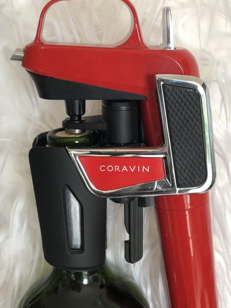 Coravin protects wine while you decide when to sip again.