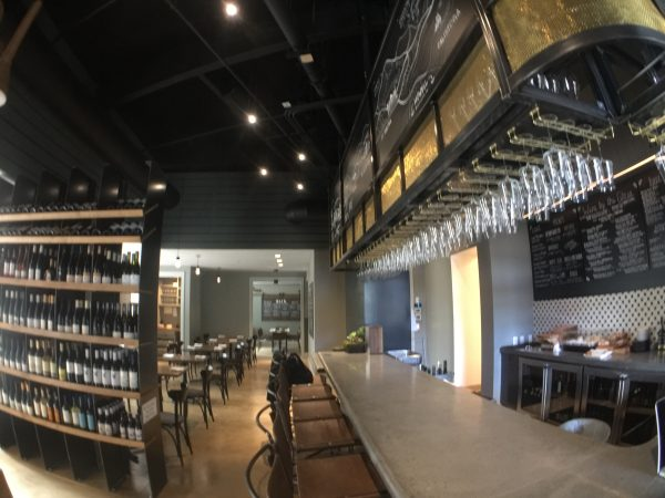 Take a look at the inside of Napa's Compline Wine Bar