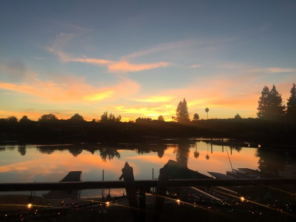 Enjoy the sunset on the Napa Riverfront