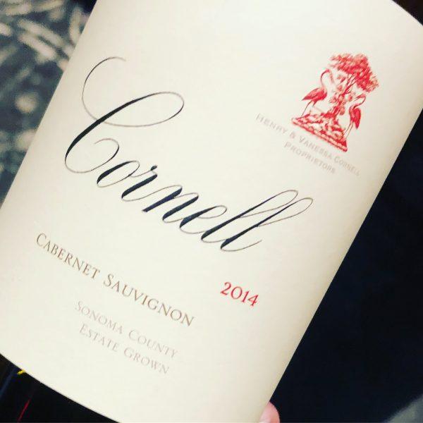 2014 Cornell Vineyards Cabernet Sauvignon Sonoma County, Spring Mountain on The Wine Siren