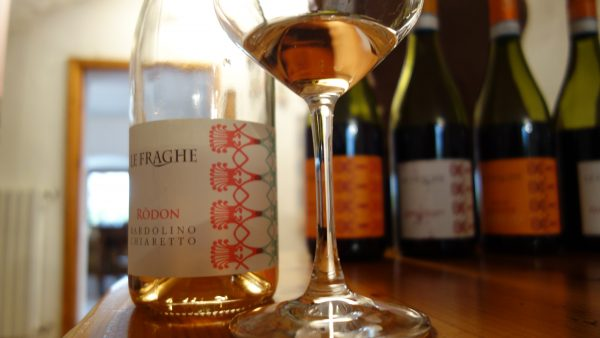 Woman-owned Le Fraghe Winery makes an outstanding Chiaretto Pink, Bardolino Italy
