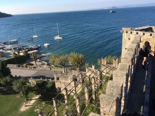 Castle of Torri del Benaco on The Wine Siren