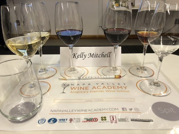 Getting an education in wine, WSET program Napa Valley