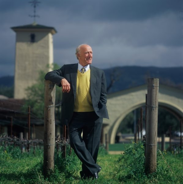 Robert Mondavi served as a mentor to many winemakers in Napa Valley including Deli Viader of Viader Vineyards