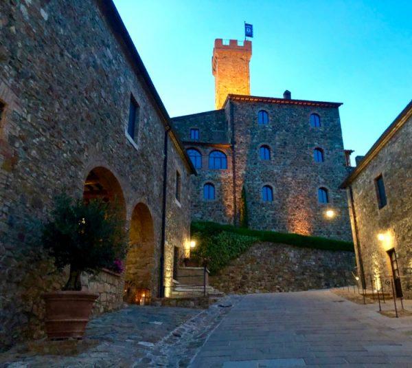 Dusk at Castello di Banfi - Il Borgo