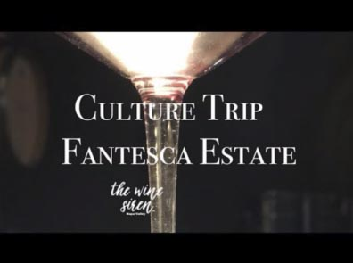 A glass of wine and the Culture Trip of Fantesca Estate