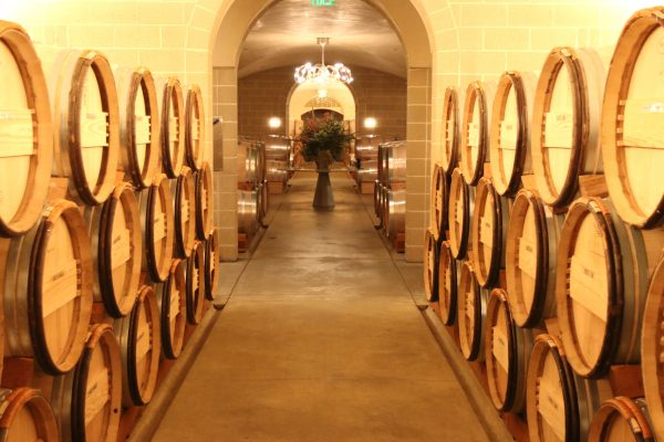 The stunning barrel rooms of Darioush