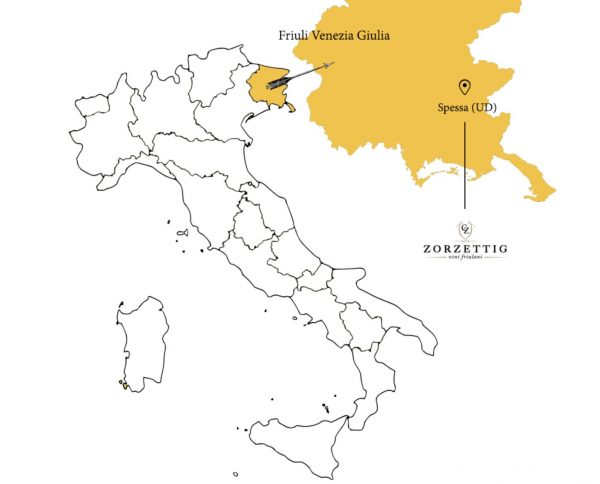 The Romance of Friuli's Zorzettig